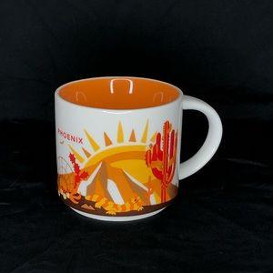 Starbucks Phoenix You Are Here Mug Coffee Cup 14oz